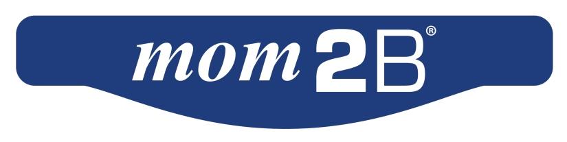 mom2b Logo - R