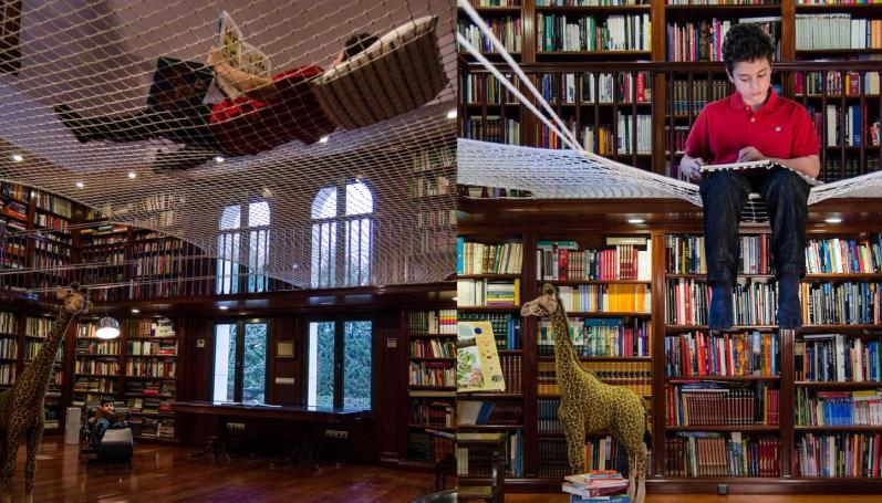 Interesting-Best-Family-Library-with-Reading-Net-Design